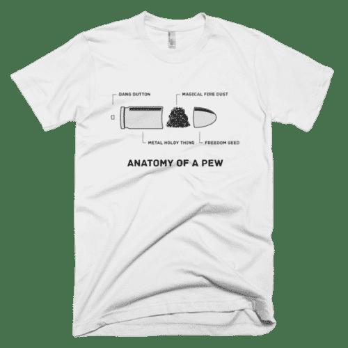 Anatomy Of A Pew White T-Shirt – Utah Fast