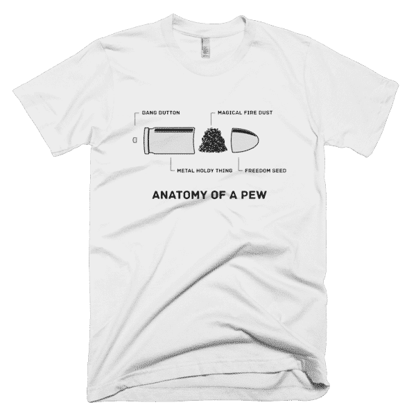 Anatomy Of A Pew White T-Shirt – Utah Fast